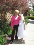 How can an 8 year old be almost as tall as her Grandmother???