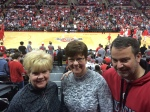 MM, Jo, Tommy....center court.....it doesn't get any better than that!!