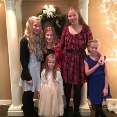 """""""My Girls"""".....Natalie, Sophia, Olivia, Sydney and Mayce"""