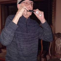 Uncle Herm traded for this treasured gfit and then proceeded to serenade us all on his harmonica