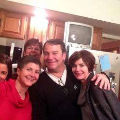 Maria, Christine, Jo, Tommy, Carole