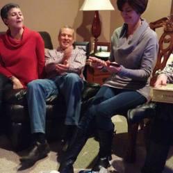 Christine, Mike, Carole