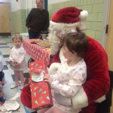 Richard, our Schultheis Santa